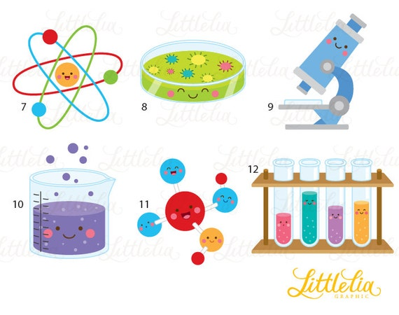 Science kawaii clipart - Scientist clipart - 16035 from ...