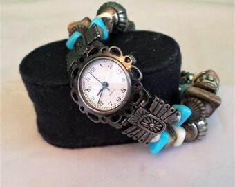 Beaded Vintage Watch