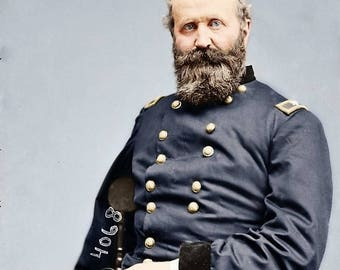 Civil war Officer  Alex Hays