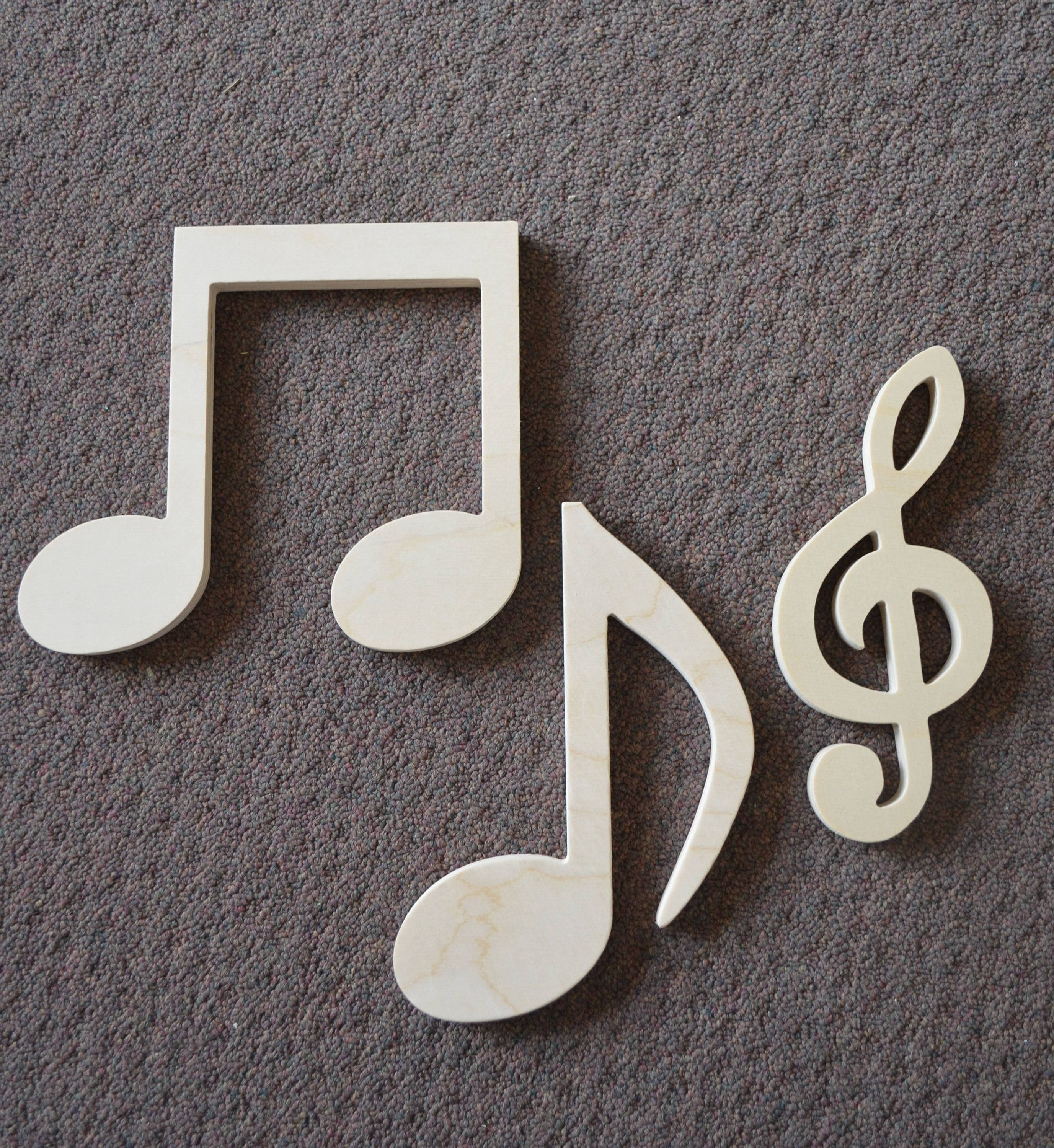 Musical Note Wall Art Music Lover Wood wall art Music