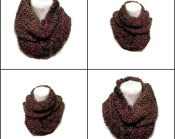 Claire's Cowl Easy PDF Knitting Pattern Sassenach Inspired Knitting Pattern PDF File Is not a finished product.