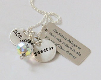 Graduation Gift from Sister, High School Graduation Gift For Sister, Inspirational Gift For Graduate, Dream Big Sister Graduation Gift