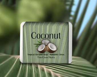 Coconut - Bar Soap