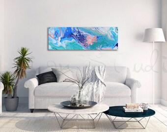 Caribbean Tide  |  Acrylic Painting  |  Abstract Art