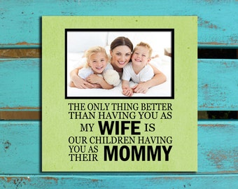 Mother's Day gift for Wife, Mommy, Mother of our children, Birthday gift for Wife, Anniversary gift for Wife, Mommy gift, Wife photo gift