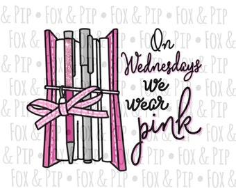 Wednesday Pink DIGITAL