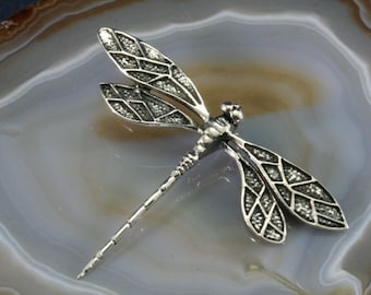 Dragonfly Silver Pendant-2333
