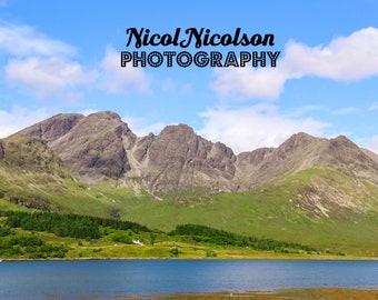 Sunshine on Bla Bheinn, Isle of Skye, Scotland