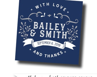 Rustic wedding stickers, rustic labels, rustic stickers, wedding favor labels, custom sticker labels, custom favor tags, labels for favors