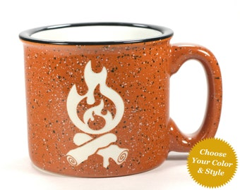 Campfire Mug - Choose Your Cup Color