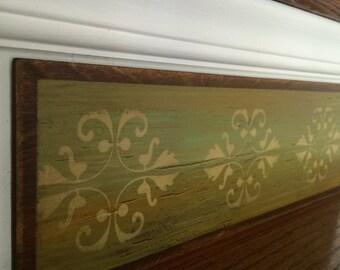 Country Home Decor / Primitive Decor / Rustic Decor / Farmhouse Decor / Distressed Home Decor / Alternative to Stair Riser Decals/ Item 012