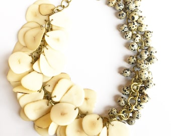 Natural Beauty Statement Necklace