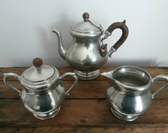 Pewter Tea Set- Royal Holland