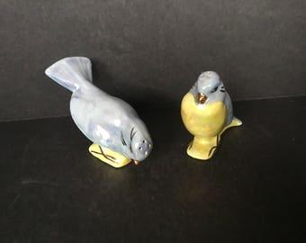 Pair of Luster Bird Shakers