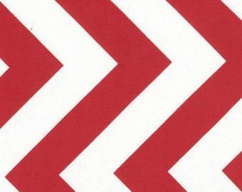 Moda Ruby Chevron 32349-15 Half Moon Modern Fabric 1 yard