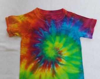 One of a Kind Toddler Tie dye/Rain Dye Tshirt!