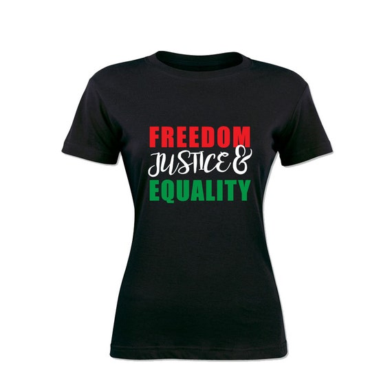 Freedom, Justice & Equality. Unisex Cotton Sweatshirt