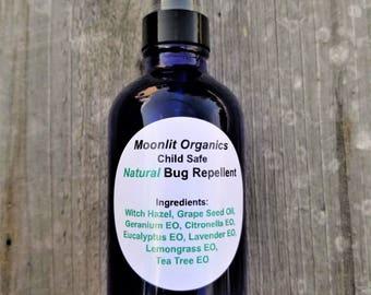 Bug Spray 4 fl oz *All-Natural * Child Safe * Mosquito Repellent