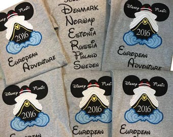 Custom Personalized Disney Cruise Shirt family,ship name