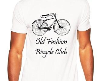 Old Fashion Bicycle Club T-shirt, Tshirt, Tshirt Men, Tshirt Sayings, Tshirts With Sayings, T-Shirt, T-Shirt For Men, Gift, Gift For Men,