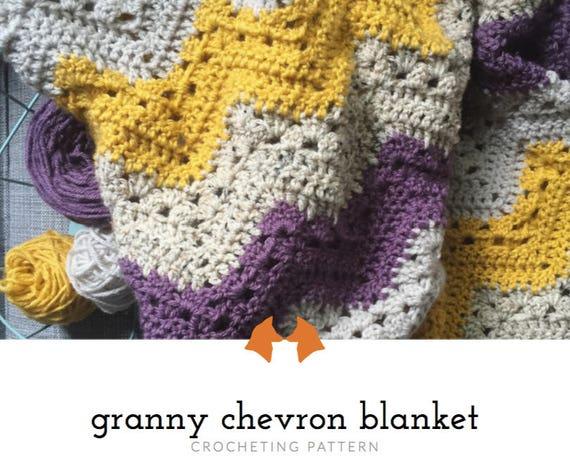Crochet baby blanket pattern crochet chevron blanket pattern dt1010fo