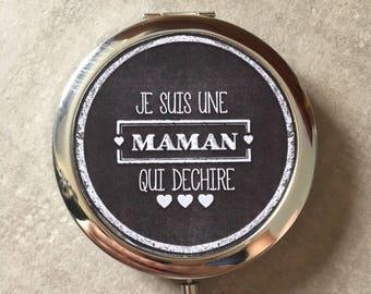 MOM - Pocket mirror - 77mm x 70mm