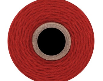 Solid Red Divine Twine (240 yards) Solid Red