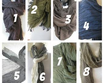 Longue écharpe pour homme, couleur Bordeaux noir vert gris Ivoire bleu  marine rayé, foulards 4405b5183ac