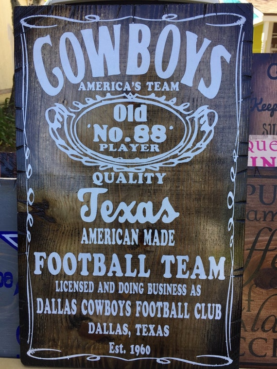 Vintage Style Cowboys Old #88