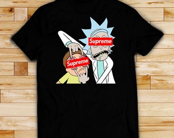 Rick and Morty shirt Rick and Morty t-shirt t shirt, unisex men's women's t shirts, cotton black shirt, white shirt, top, unisex adult