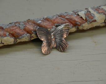 """1.25"""" small steel butterfly"""