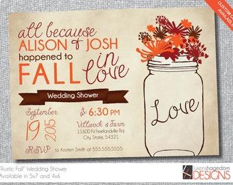 Rustic Wedding Shower-Digital File