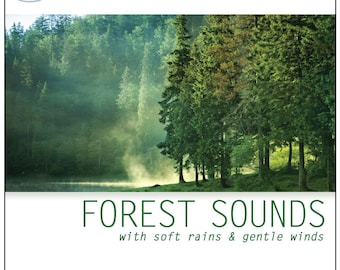 Forest Sounds (CD): with Soft Rains & Gentle Winds (Nature Sounds of the Forest)
