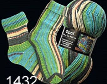 Opal Sock Yarn Hundertwasser, 100g/465yds, #1432