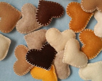 Bowl Fillers Hearts set of 15