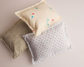Pillow covers/newborn pillow props/ pillow props- Floral pillow covers