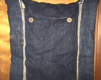 Black Hmong Hemp Shoulder Bag