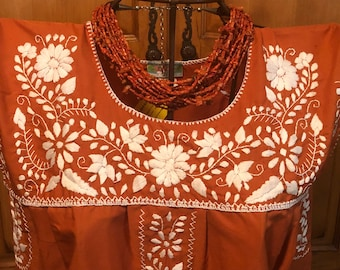 UT Texas Puebla Mexican Dress small medium large xlarge