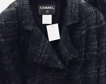 Vtg Chanel Boucle Suit