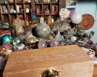 Rose gold treasure trinket box