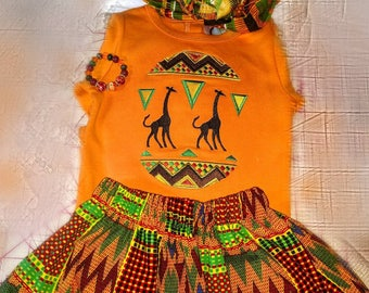 African Princess Outfit