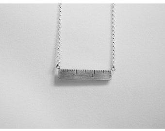 Mini Ruler Necklace
