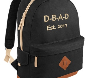 Heritage Backpack - Heritage bag - Trendy Backpack - Classic Backpack - Casual Daypack