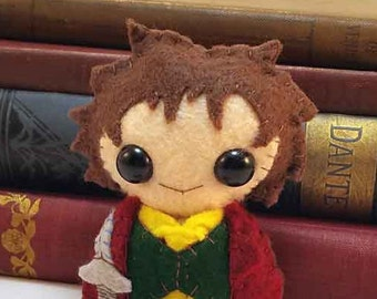 Bilbo plushie (made to order)