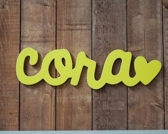 Wooden Name sign,  Wooden letters, Baby Name, Wooden nursery name, nursery decor, wooden wall art, above a crib, baby name sign