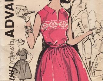 Advance 2831 / Vintage Sewing Pattern / Dress / Size 14 Bust 34