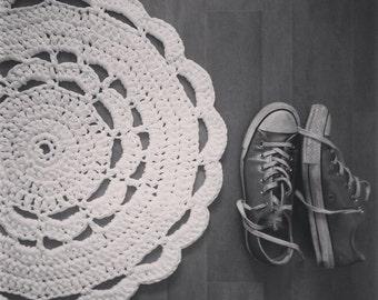 Little Crochet Doily Rug PDF Pattern