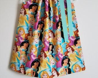Princess Dress Pillowcase Dress with Princesses Cinderella Dress Rapunzel Dress Jasmine Dress Belle Dress Princess Birthday Princess Party