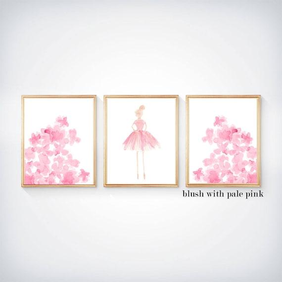 Prima Ballerinas, Set of 3 - 8x10 Girls Bedroom Prints