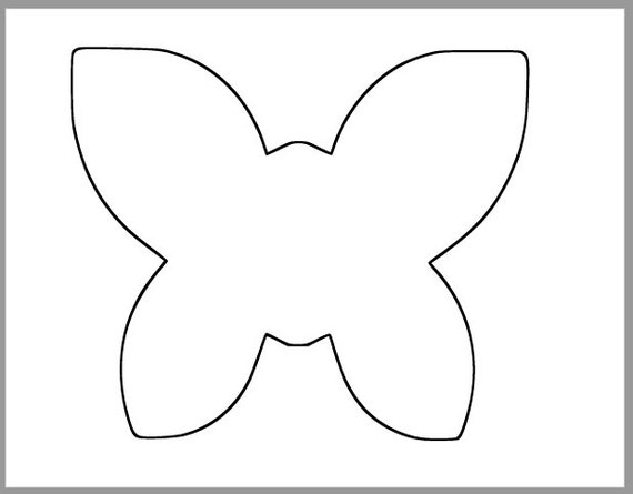 butterfly cutouts template